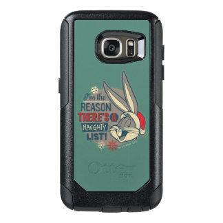 Coque OtterBox Samsung Galaxy S7 ™ de BUGS BUNNY - la raison il y a une liste