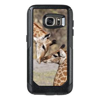 Coque OtterBox Samsung Galaxy S7 Deux jeunes girafes