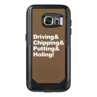 Coque OtterBox Samsung Galaxy S7 Driving&Chipping&Putting&Holing (blanc)