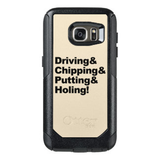 Coque OtterBox Samsung Galaxy S7 Driving&Chipping&Putting&Holing (noir)