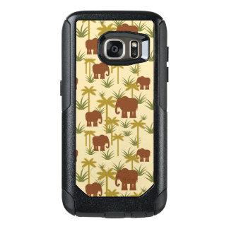 Coque OtterBox Samsung Galaxy S7 Éléphants et paumes dans le camouflage