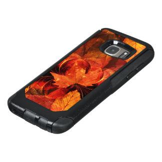 Coque OtterBox Samsung Galaxy S7 En feu avec de belles couleurs d'automne de