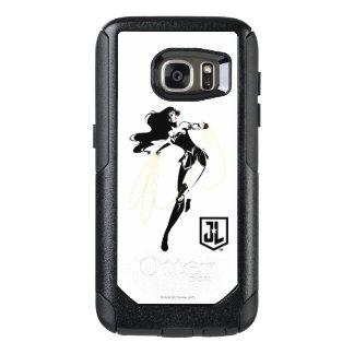 Coque OtterBox Samsung Galaxy S7 Femme de merveille de la ligue de justice | avec