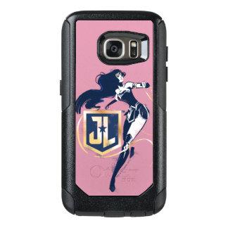 Coque OtterBox Samsung Galaxy S7 Femme de merveille de la ligue de justice | et art