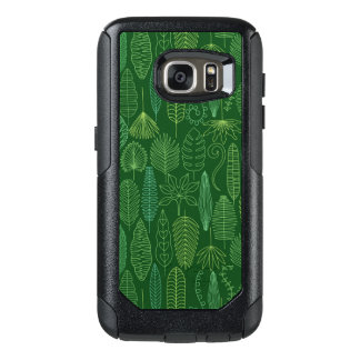 Coque OtterBox Samsung Galaxy S7 Feuille tropical d'aquarelle