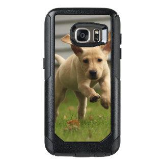 Coque OtterBox Samsung Galaxy S7 Fonctionnement jaune de chiots de Labrador