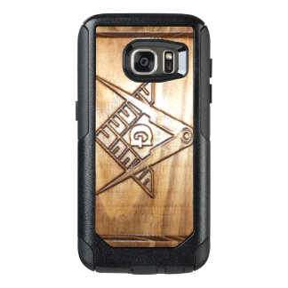 Coque OtterBox Samsung Galaxy S7 Galaxie maçonnique S8 PLUS le cas de téléphone