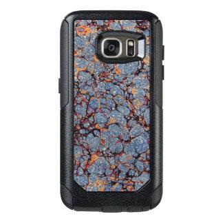 Coque OtterBox Samsung Galaxy S7 Garde marbrée par bleu