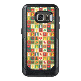 Coque OtterBox Samsung Galaxy S7 Grand motif de Noël