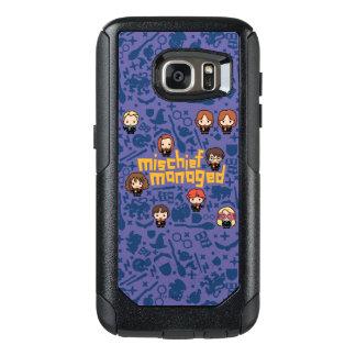 """Coque OtterBox Samsung Galaxy S7 Graphique contrôlé """"par préjudice"""" de bande"""