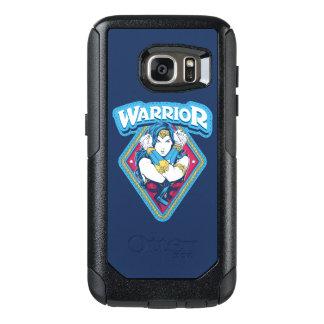 Coque OtterBox Samsung Galaxy S7 Graphique de guerrière de femme de merveille