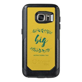 Coque OtterBox Samsung Galaxy S7 Guirlande de Tau d'alpha sigma grande
