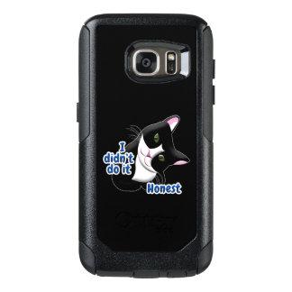 Coque OtterBox Samsung Galaxy S7 Je ne l'ai pas fait chat