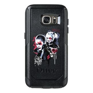 Coque OtterBox Samsung Galaxy S7 Joker du peloton | de suicide et graffiti peint