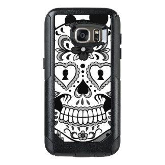Coque OtterBox Samsung Galaxy S7 Jour du crâne mort de sucre, par Skinderella