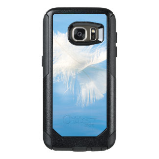 Coque OtterBox Samsung Galaxy S7 La plume blanche réfléchit sur l'eau | Seabeck, WA