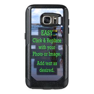 Coque OtterBox Samsung Galaxy S7 Le clic facile et remplacent la photo pour faire