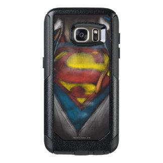 Coque OtterBox Samsung Galaxy S7 Le coffre de Superman | indiquent le croquis