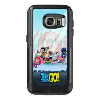 Coque OtterBox Samsung Galaxy S7 Les titans de l'adolescence vont ! approches