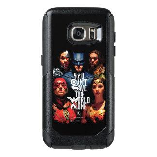 Coque OtterBox Samsung Galaxy S7 Ligue de justice | vous ne pouvez pas sauver seul