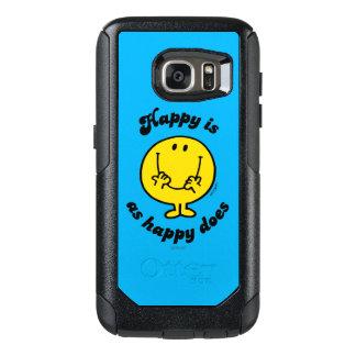 Coque OtterBox Samsung Galaxy S7 M. Happy | heureux est comme heureux fait