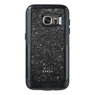 Coque OtterBox Samsung Galaxy S7 Monogramme noir moderne D5 de parties