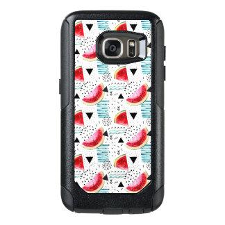 Coque OtterBox Samsung Galaxy S7 Motif abstrait de pastèque
