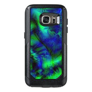Coque OtterBox Samsung Galaxy S7 Motif abstrait moderne frais d'art numérique
