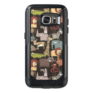 Coque OtterBox Samsung Galaxy S7 Motif africain d'animaux