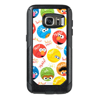 Coque OtterBox Samsung Galaxy S7 Motif de caractère de cercle de Sesame Street