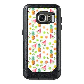 Coque OtterBox Samsung Galaxy S7 Motif de fruit glacé d'aquarelle
