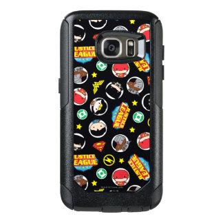 Coque OtterBox Samsung Galaxy S7 Motif de héros et de logos de ligue de justice de