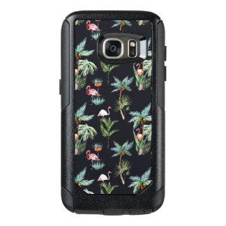 Coque OtterBox Samsung Galaxy S7 Motif de paume d'aquarelle