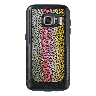 Coque OtterBox Samsung Galaxy S7 Motif de regard de texture d'échelle de truite
