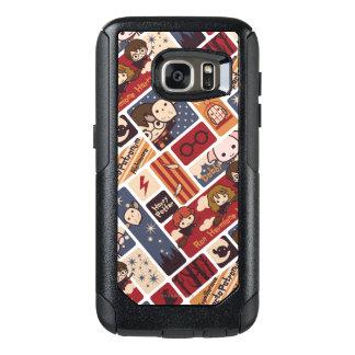 Coque OtterBox Samsung Galaxy S7 Motif de scènes de bande dessinée de Harry Potter