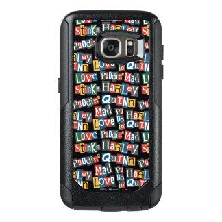 Coque OtterBox Samsung Galaxy S7 Motif de style de note de rançon de Batman |