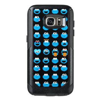 Coque OtterBox Samsung Galaxy S7 Motif d'Emoji de monstre de biscuit