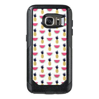 Coque OtterBox Samsung Galaxy S7 Motif mignon de griffonnage d'ananas et de