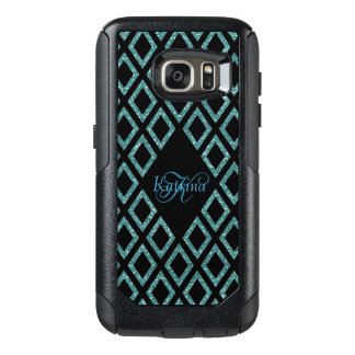 Coque OtterBox Samsung Galaxy S7 Motif moderne de noir de parties scintillantes