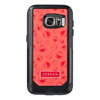 Coque OtterBox Samsung Galaxy S7 Motif rouge impressionnant d'Elmo |