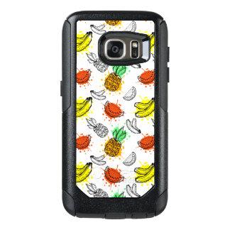 Coque OtterBox Samsung Galaxy S7 Motif sans couture de graphique de vecteur