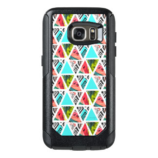 Coque OtterBox Samsung Galaxy S7 Motif tropical abstrait coloré