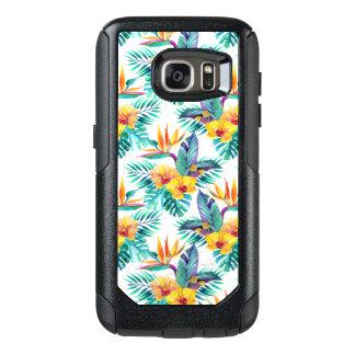 Coque OtterBox Samsung Galaxy S7 Oiseau du paradis et du motif d'orchidée