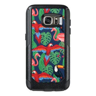 Coque OtterBox Samsung Galaxy S7 Oiseaux tropicaux dans des couleurs lumineuses