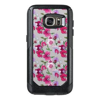 Coque OtterBox Samsung Galaxy S7 Orchidées roses en fleur