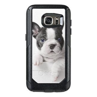 Coque OtterBox Samsung Galaxy S7 Pair de deux chiots de bouledogue français