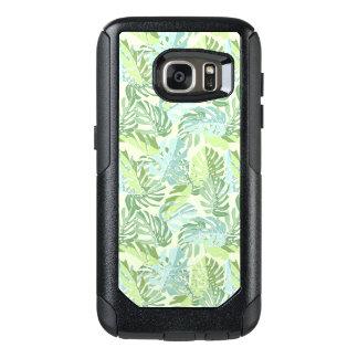 Coque OtterBox Samsung Galaxy S7 Palmettes tropicales en pastel