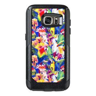 Coque OtterBox Samsung Galaxy S7 Perroquets d'aquarelle