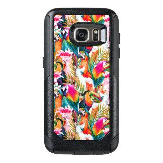 Coque OtterBox Samsung Galaxy S7 Perroquets et palmettes