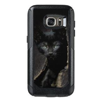Coque OtterBox Samsung Galaxy S7 Petit Kitty noir